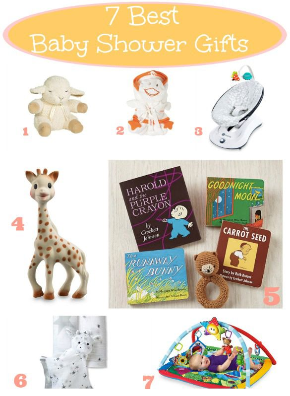 Any Of These Top 7 Best Baby Shower Gifts Is Sure To Be A Hit!