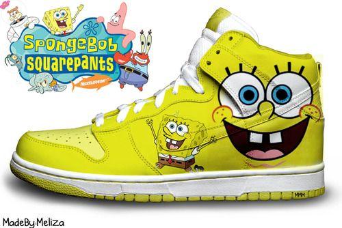 Spongebob Nike Shoes | Coolest shoes