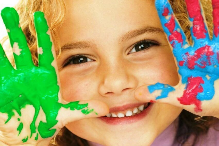 3 года ребёнку | Яркие цвета, Краска, Крапивница