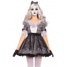Resultado De Imagen Para Disfraz Muñeca Malvada Disfraces De Halloween Para Muñecas Muñecas De Porcelana Disfraz