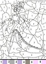 Coloriage Numéroté Princesse Coloring Pages Coloring