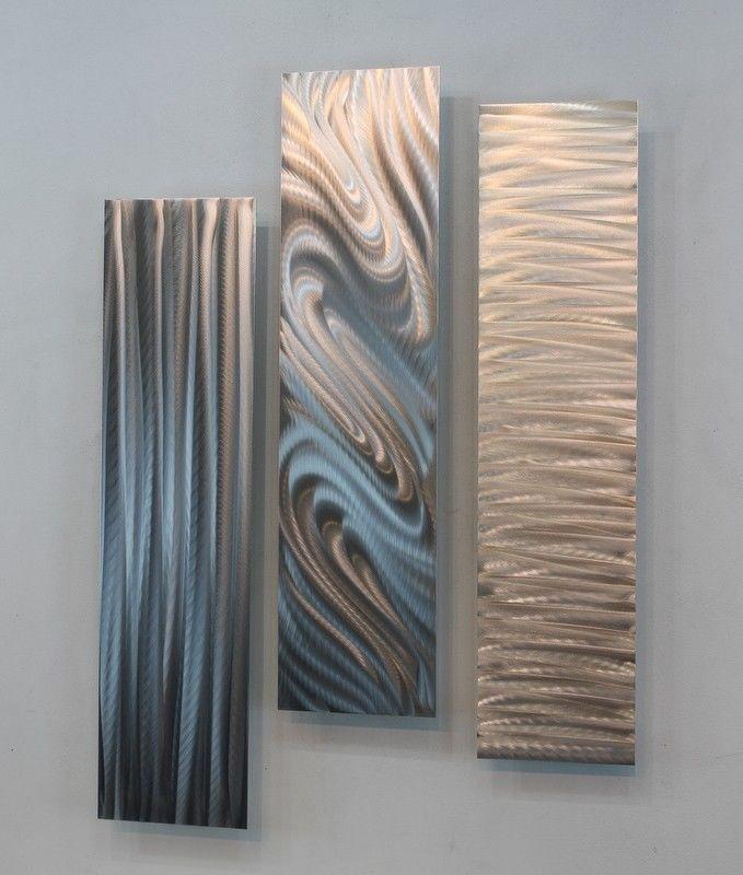 Ultra Modern Art Silver 3d Metal Wall Art Panels Modern Accent Decor Jon Allen Silver Wall Art 3d Metal Wall Art Wall Sculpture Art