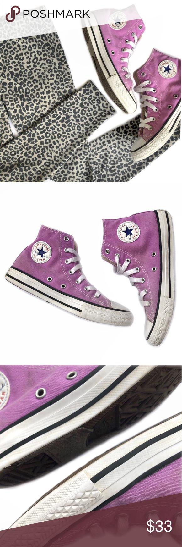 c6b3822bd3a1 Converse Chuck Taylor Fushia Purple High Tops Big kids Converse Chuck  Taylor All-Stars Classic