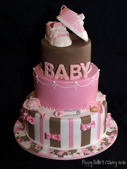 couture baby shower cakes | BABY GIRL | Flickr - Photo Sharing!