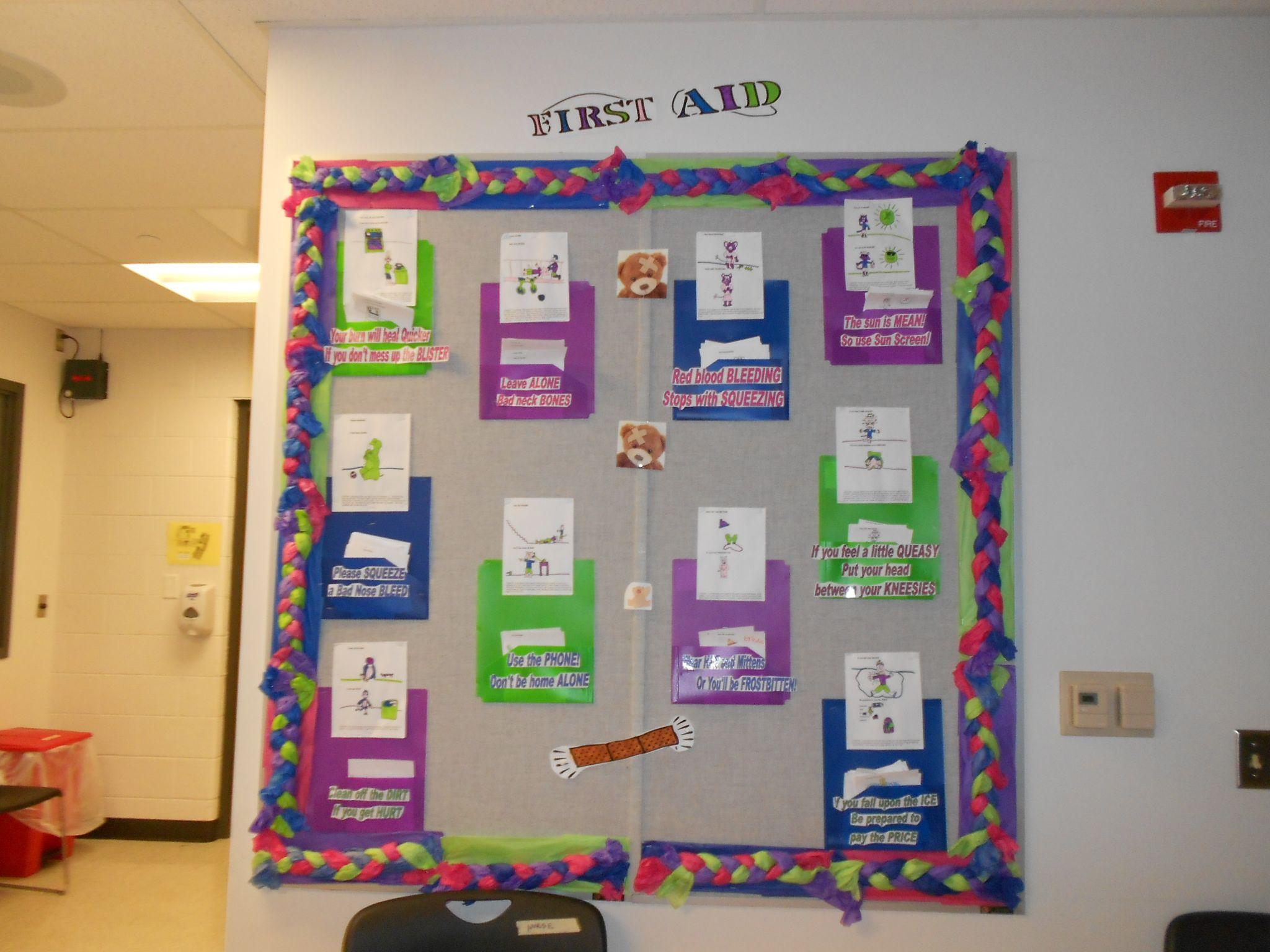 School Nurse Office Bulletin Boards Pinterest School Nurse ...