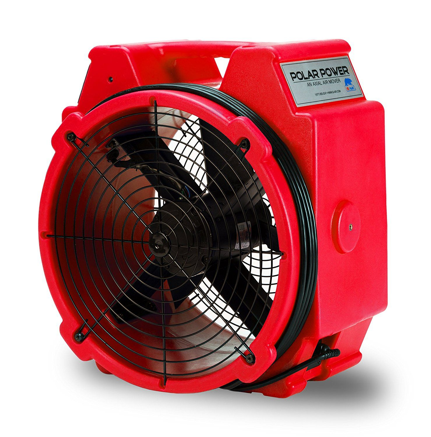 Polar Axial Fan High Velocity Air Mover for Water Damage