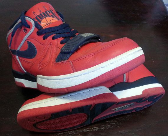 Nice · Vintage Nike Air Alpha Force Basketball High Top Shoes size 9 on Etsy  ...
