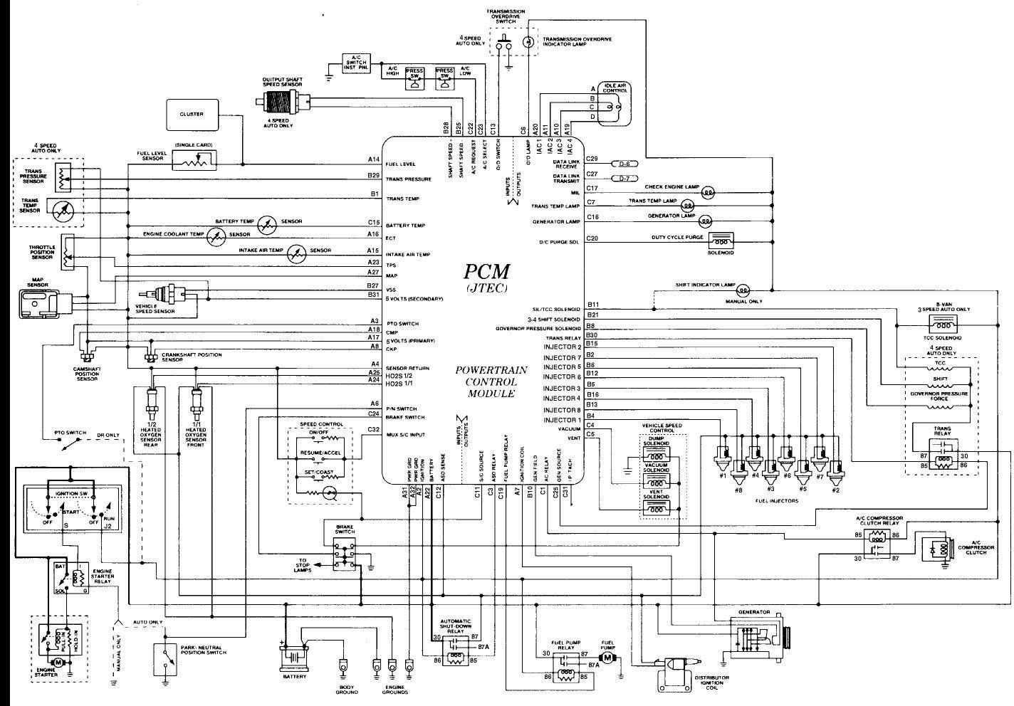 1998 Dodge Ram 2500 Wiring Diagram