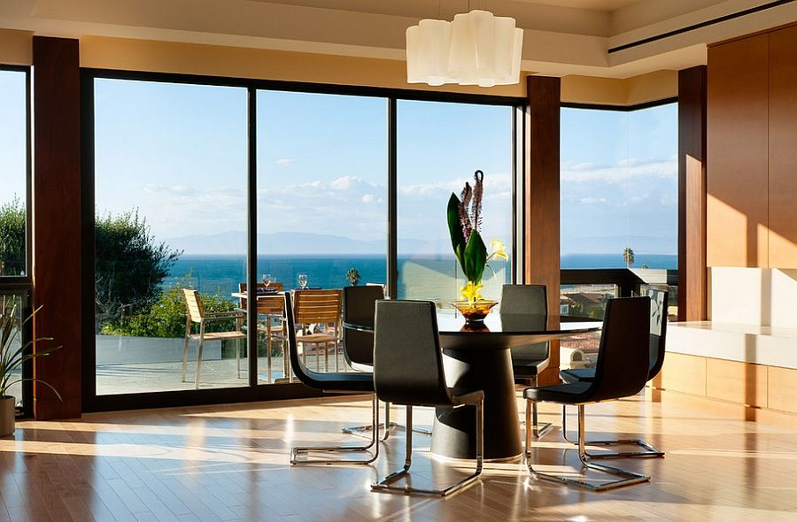 Rooms With An Ocean View  Outdoor Dining Dining And Spaces Impressive Ultra Modern Dining Room Design Ideas