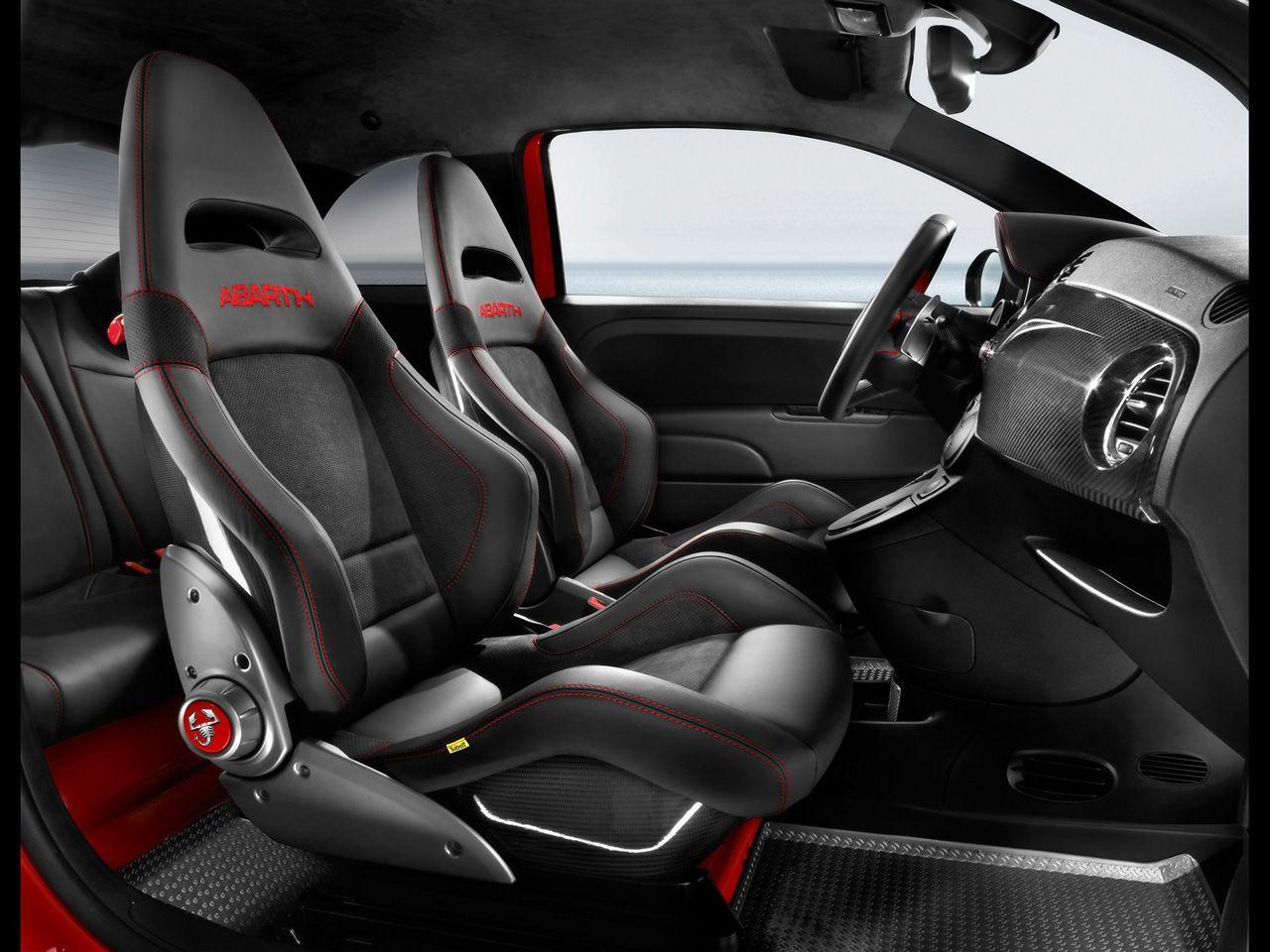 Abarth edición Ferrari (interior) _asientos | Coches y motocicletas ...