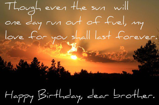 Birthday Wishes Whatsapp Status For Brother From Sister Emotional