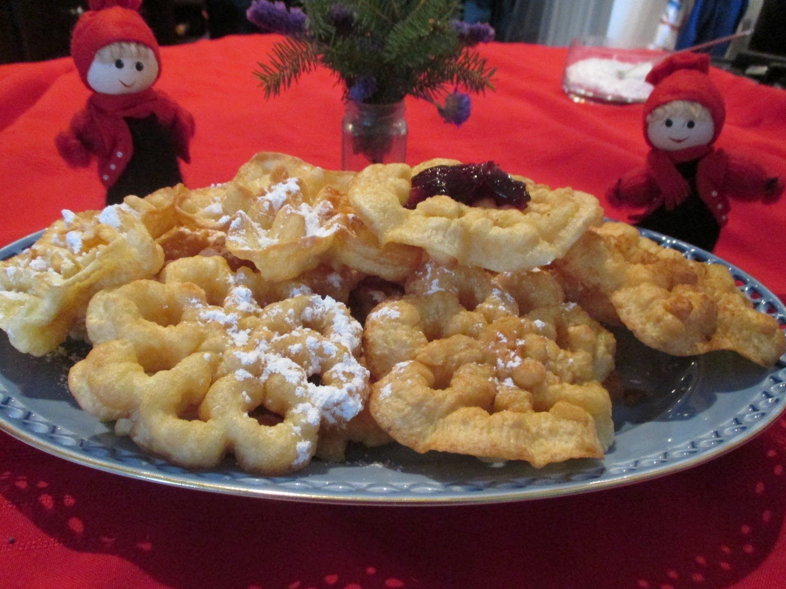 scandinavian rosette cookies a traditional homemade christmas cookie recipe