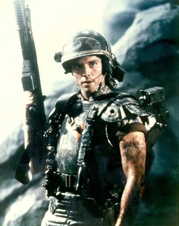 Corporal Dwayne Hicks | Aliens movie, Fiction movies, Aliens 1986