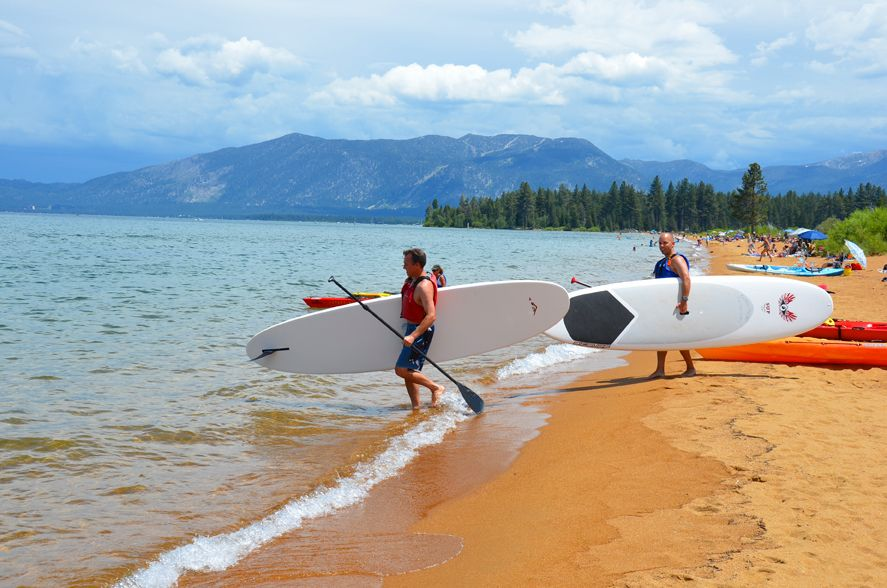 Kayak and stand up paddle board rentals at baldwin beach