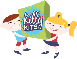 Kelly Kits: pre-packaged craft kits for working with the littles. Nice!
