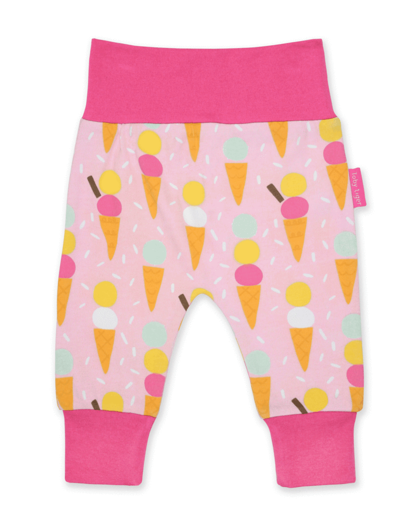 Toby Tiger Pink Yoga Trousers