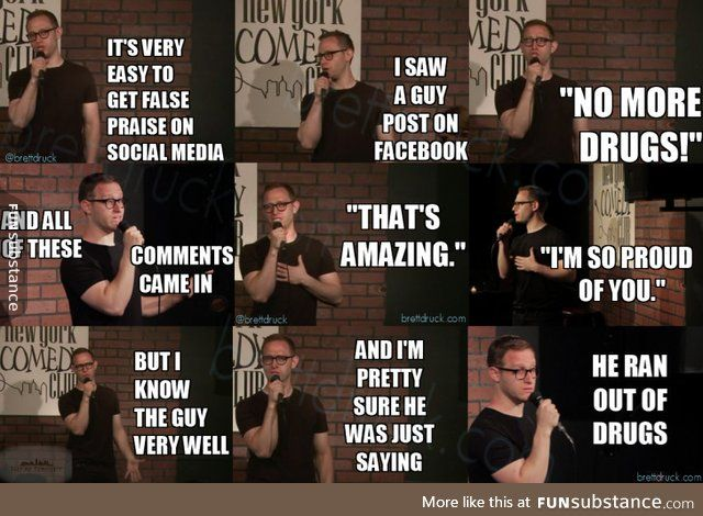 False Praise Funsubstance Stand Up Comedy Jokes Stand Up Comedy Comedians Jokes