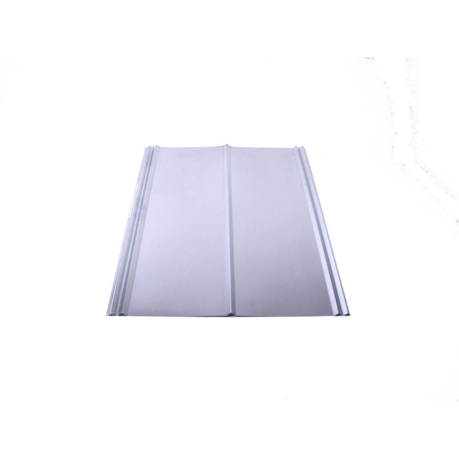 Fabral 5v Crimp 2 16 Ft X 12 Ft Ribbed Metal Roof Panel Lowes Com Steel Roof Panels Metal Roof Panels Roof Panels