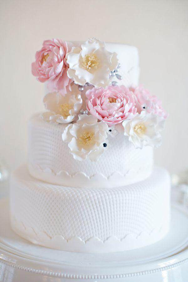 Completely Gorgeous Sugar Flower Cake | Vitalic Photo Nice Ideas