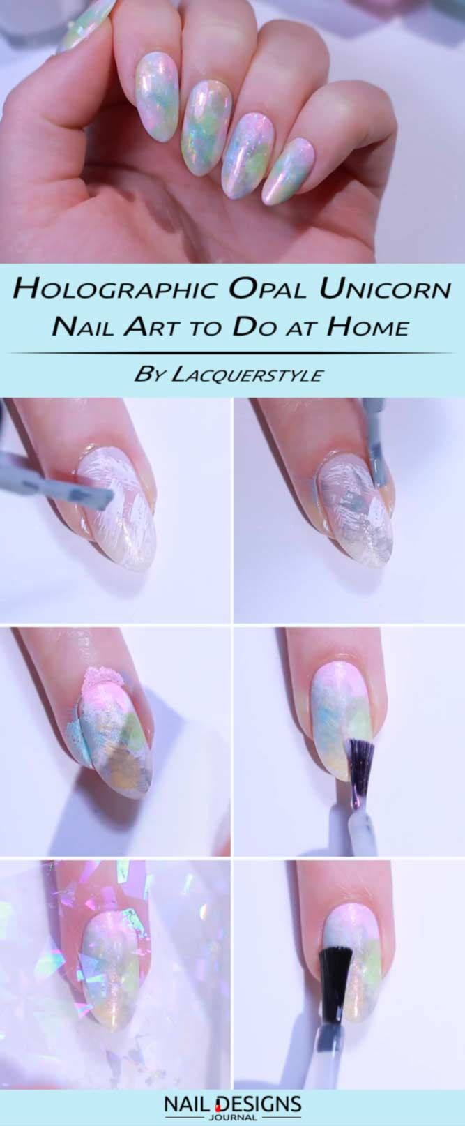 12 Step by Step Tutorials How to do Nail Designs at Home - Nagel en ...