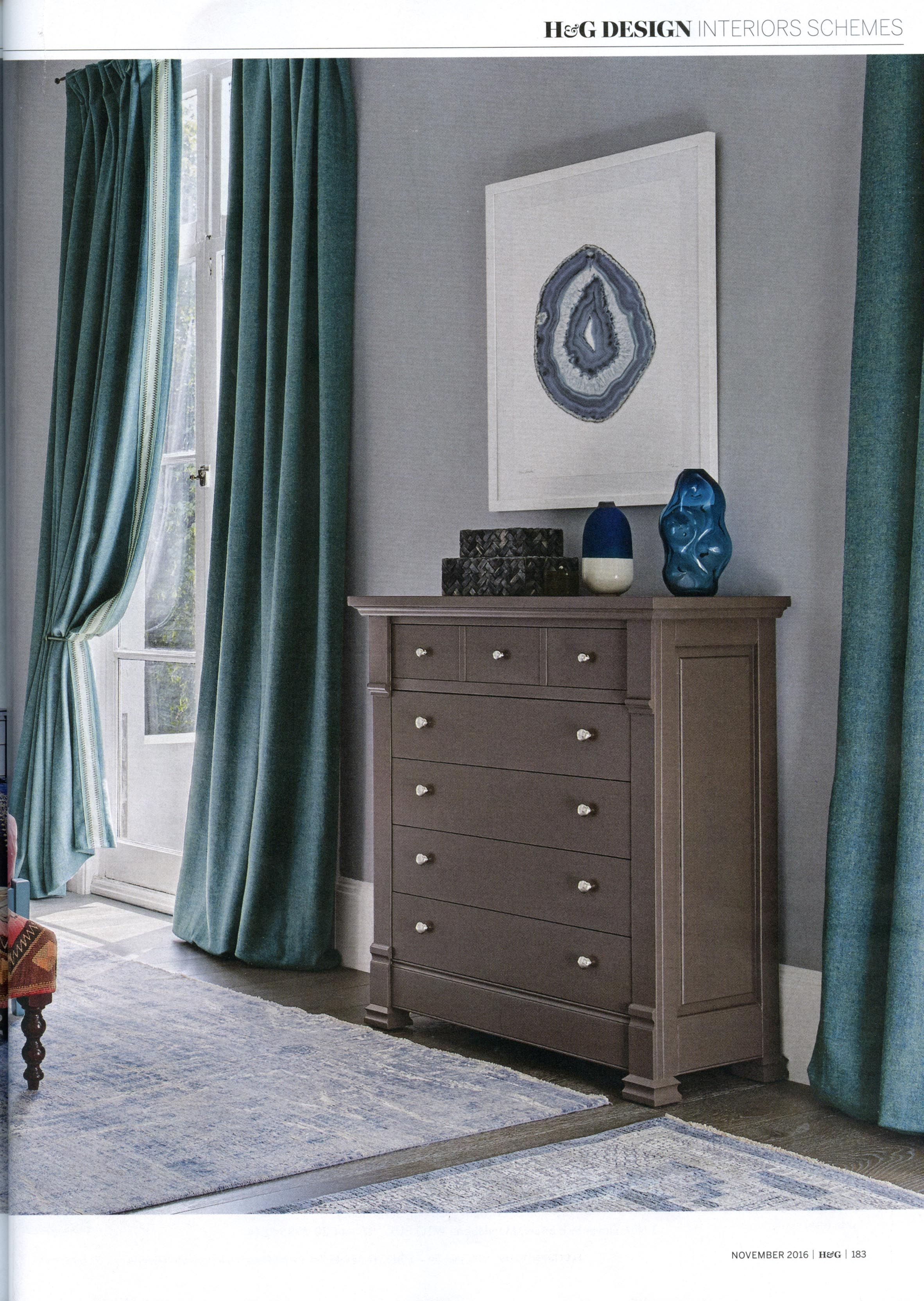 The Miscombe Three Drawer Bedside Tables From Simon Horn Https