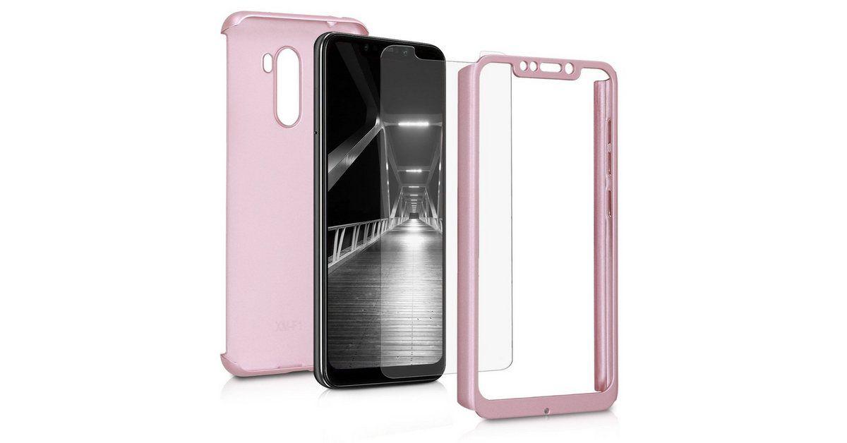 Handyhulle Hulle Fur Xiaomi Pocophone F1 Komplette Abdeckung Inkl Display Schutzglas Handy C Handy Glas Schutzhulle
