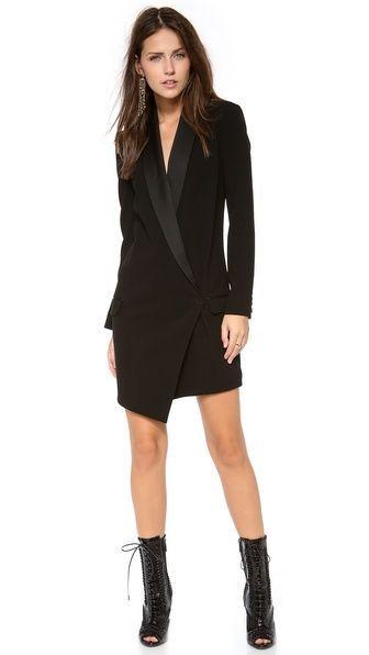 Blazer dress | Blazer dress, Blazers and Winter