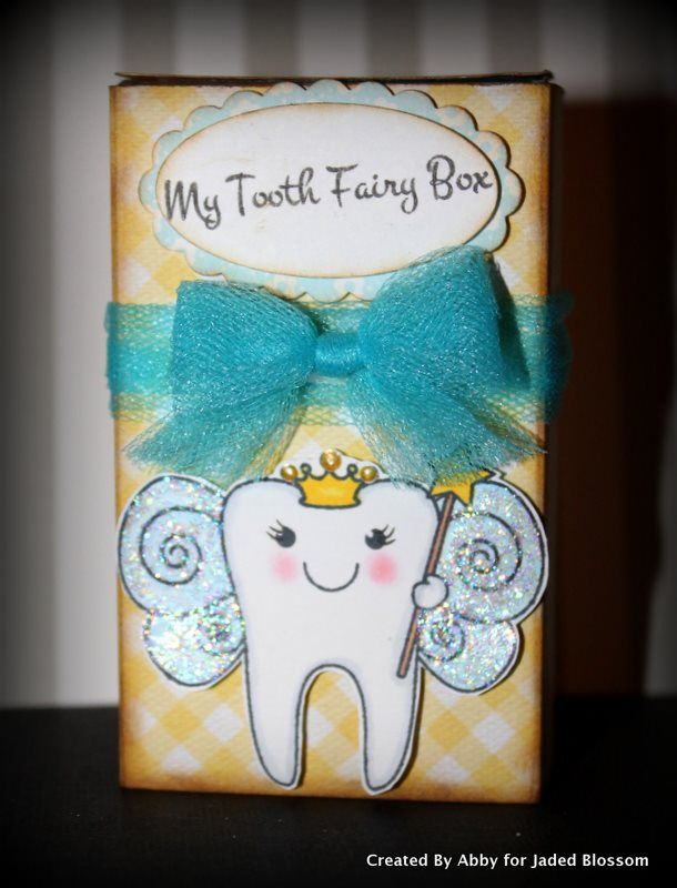 Tooth Fairy Box...What a great idea!