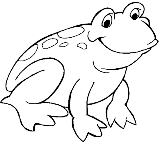 Frog Smile Frog Coloring Pages Animal Coloring Pages Princess Coloring Pages