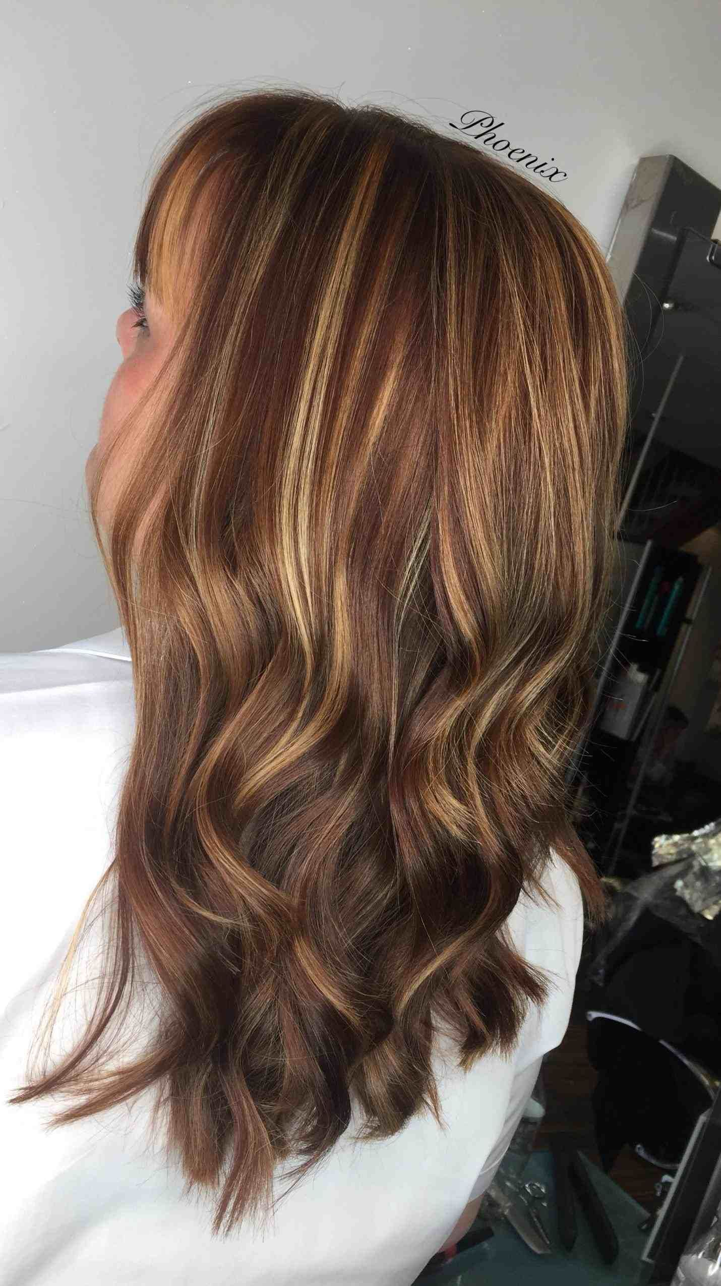 22++ Brown hair with copper and blonde highlights ideas in 2021