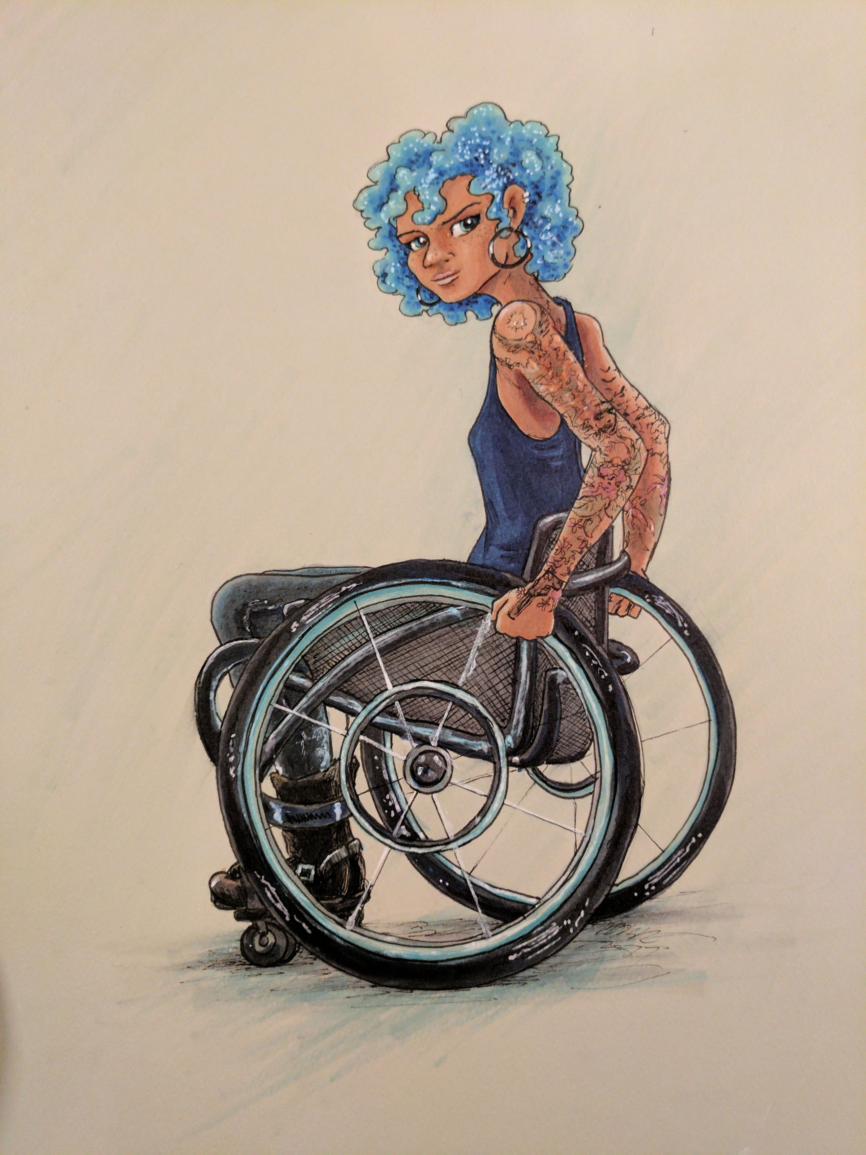 Drawing Of Girl In Wheelchair Google Search In 2020 Drawings