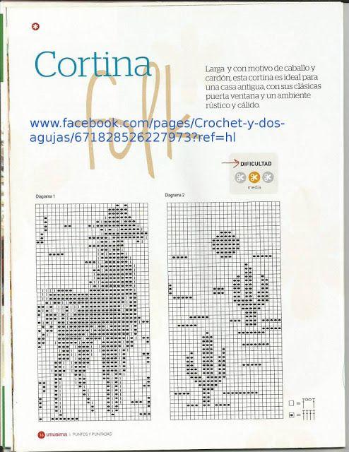 Patrón #600: Cortina \