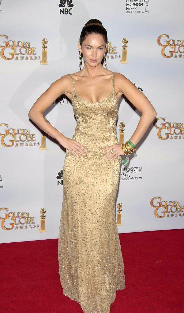 Megan Fox Evening Dress | Dresses, Evening dresses, Beaded evening gowns