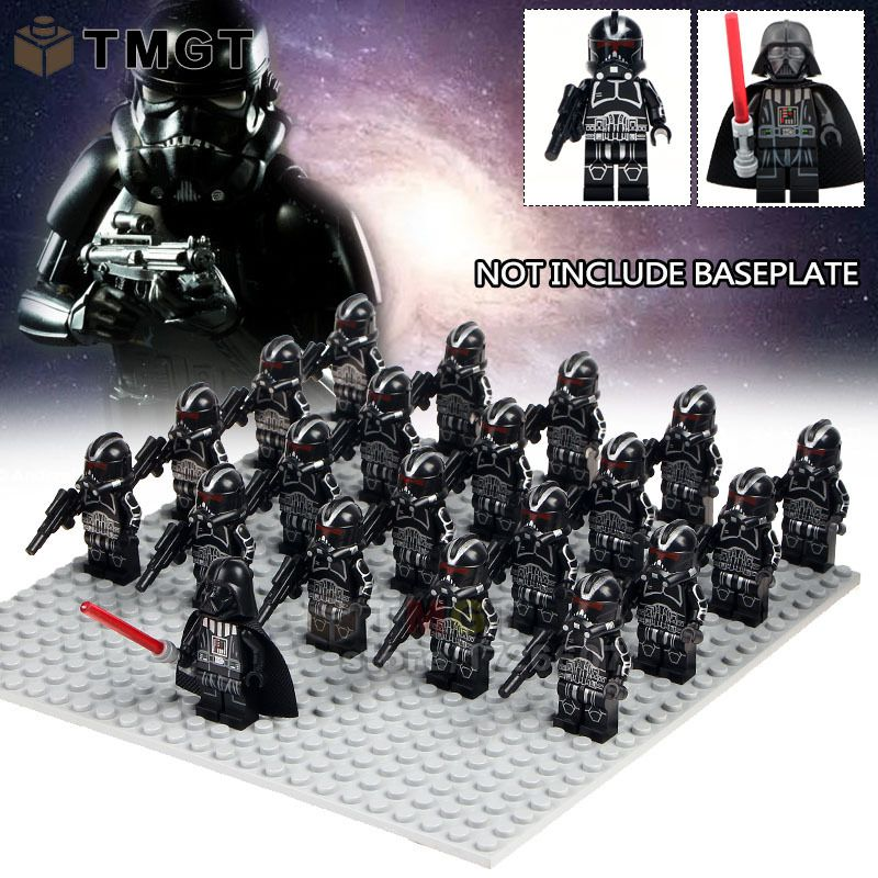 Fits lego and block Four Stormtroopers 501st Legion Star Wars Mini-figures NEW