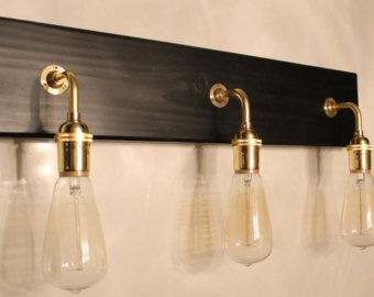 Awesome Copper Alloy Bathroom Light Fixtures   Kitchen Ideas