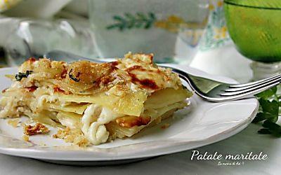 Patate maritate - Ricetta rustica della cucina regionale abruzzese