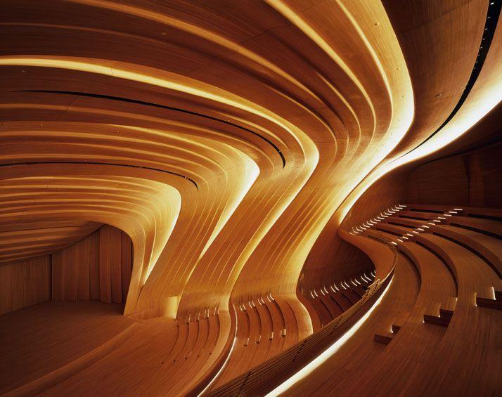 The Heydar Aliyev Center By Zaha Hadid Architects In Baku Azerbaijan Yatzer Zaha Hadid Zaha Hadid Interior Zaha Hadid Architecture