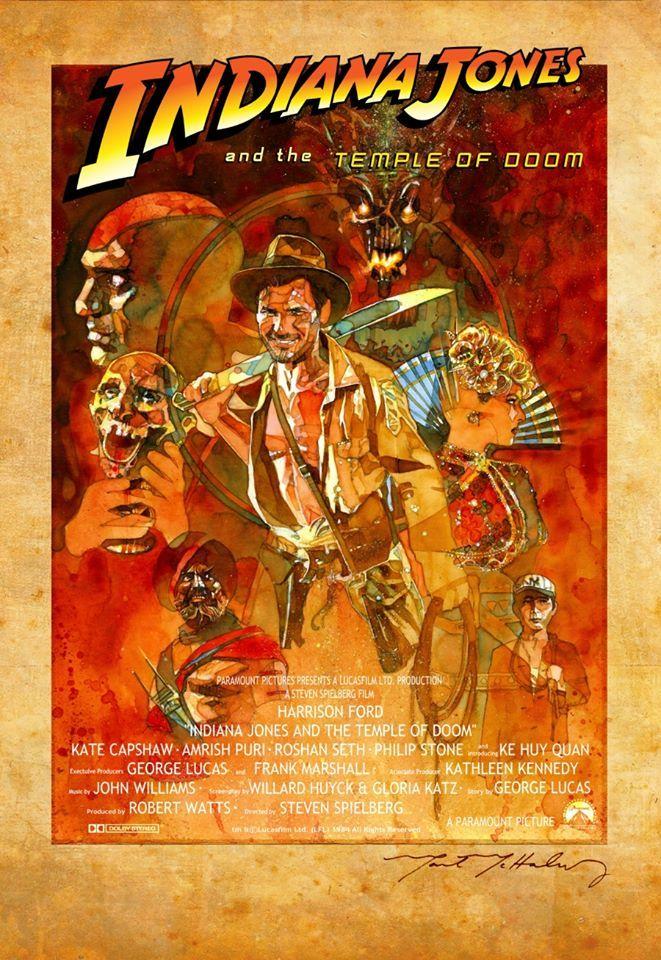 indiana jones movie posters