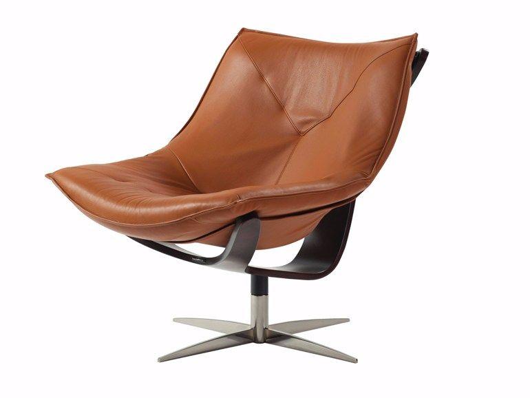 Phenomenal Swivel Armchair With 4 Spoke Base Dolphin By Roche Bobois In Creativecarmelina Interior Chair Design Creativecarmelinacom