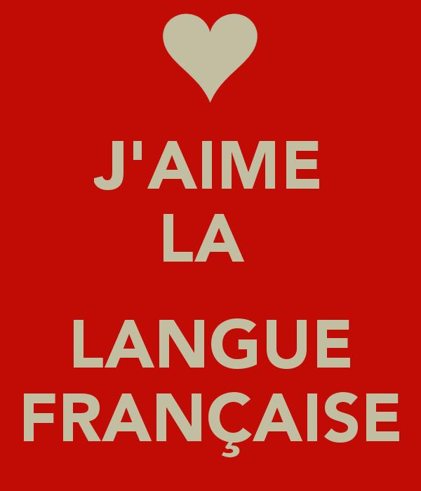 Berühmt J'aime la langue française<3 | J'aime le français! | Pinterest  RO83