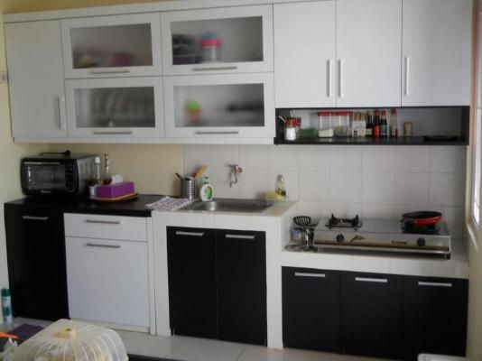 Dapur Rumah Sederhana Minimalis Kitchen Sets E Saving Cabinets Future House