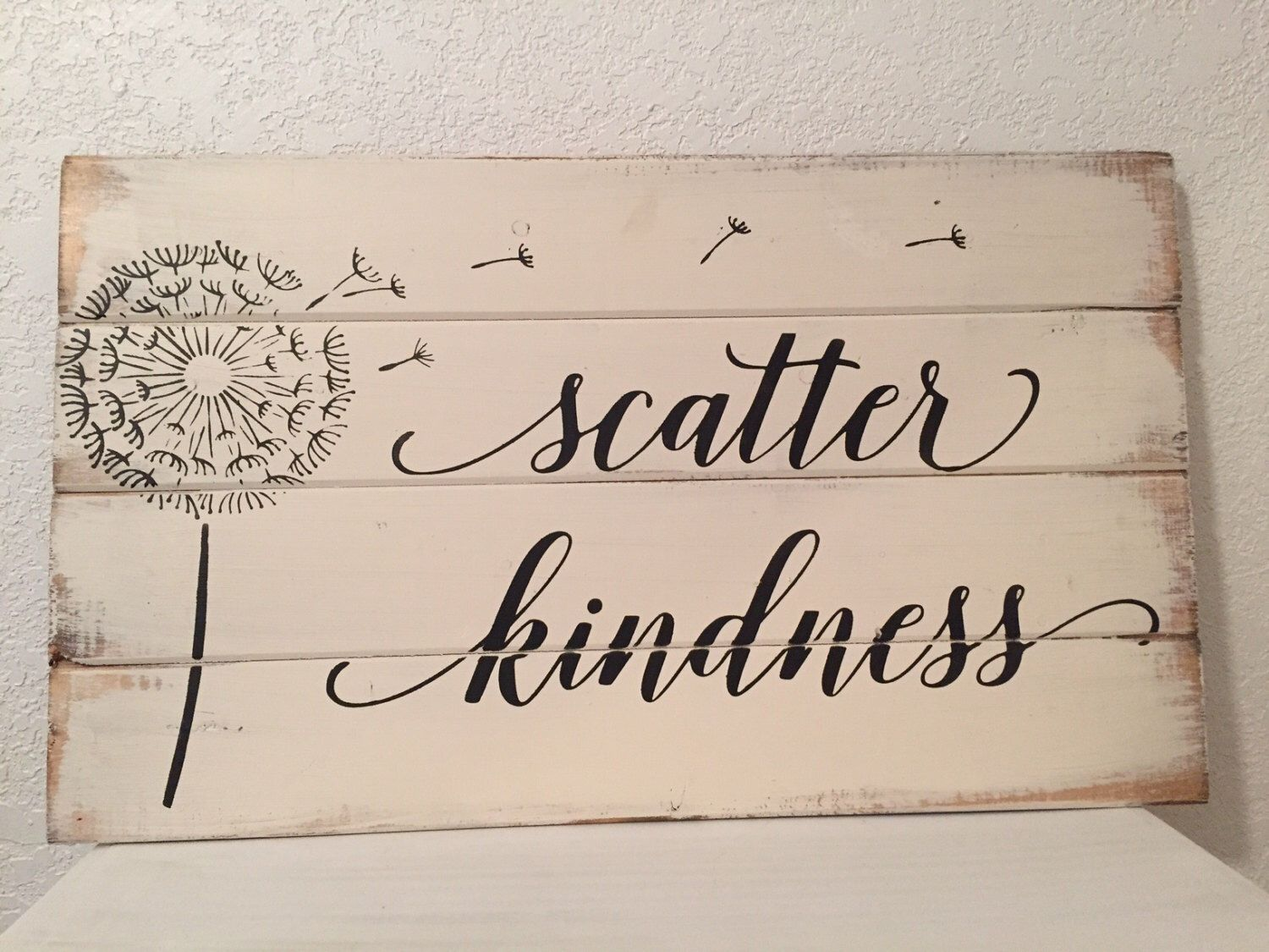 Ter Kindness Scripture Sign Farmhouse Decor 14 W X21 H Hand Painted Wood Christmas Gift Signs Home For The