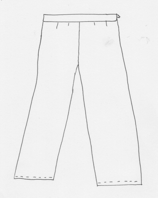 pantalon grande taille (patron) big size trousers pattern | Couture ...