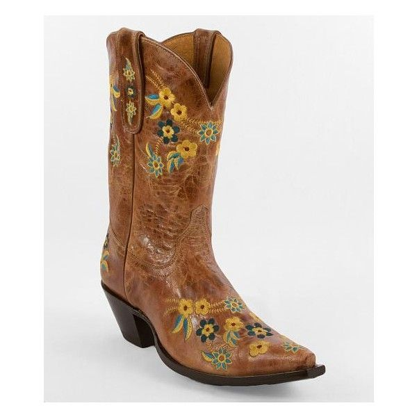 Yippee Ki Yay By Old Gringo Floral Cowboy Boot Vitromiel Embroidered leather western boot Mid-calf 10 shaft snip toe 2 1/4 heel. Due to the nature of leather/s…