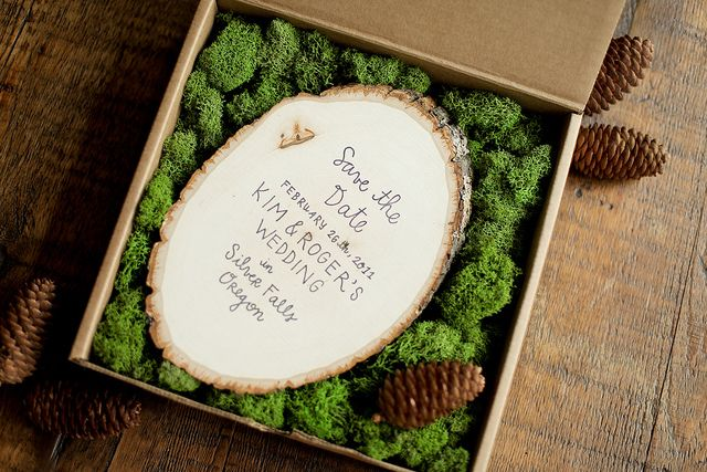 Woodland Save The Date 1 Alternative Wedding Invitations Creative Wedding Invitations Forest Wedding Invitations
