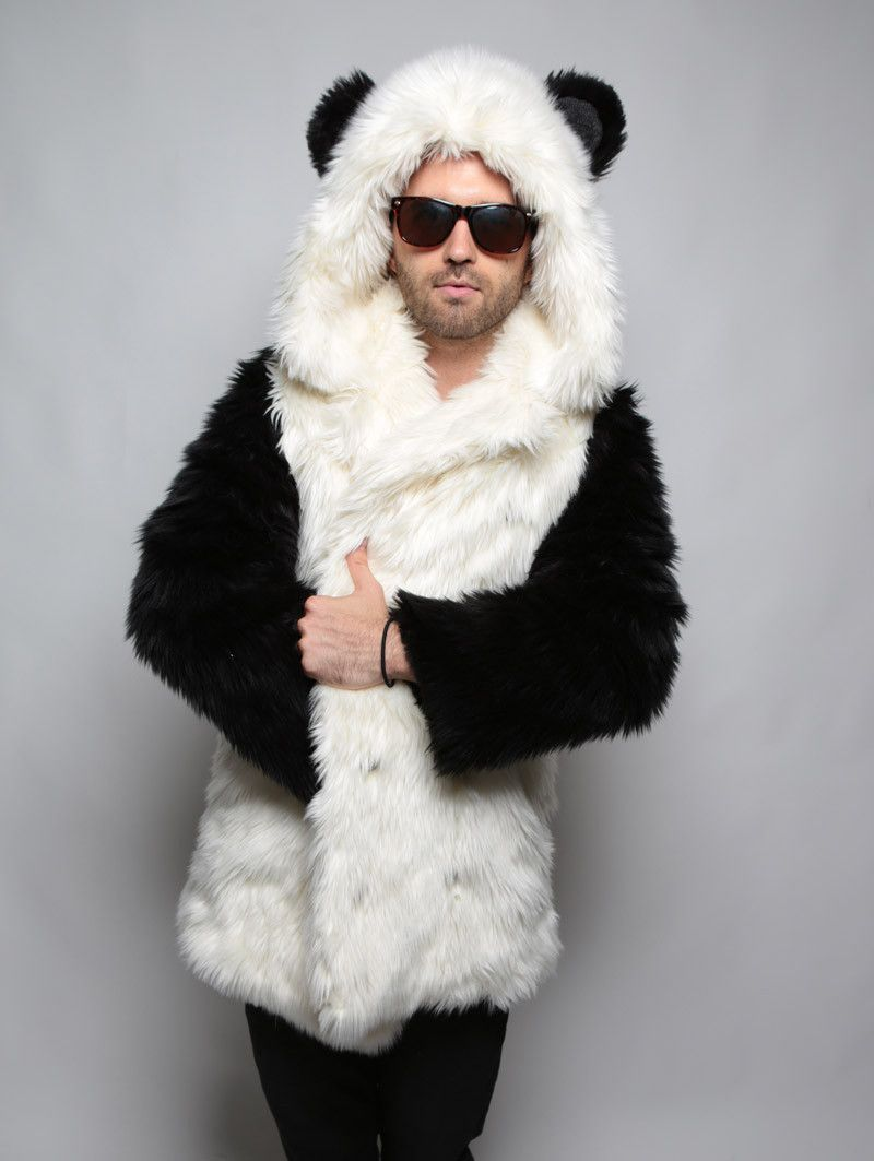 b082cc823ff Panda Faux Fur Coat hover image