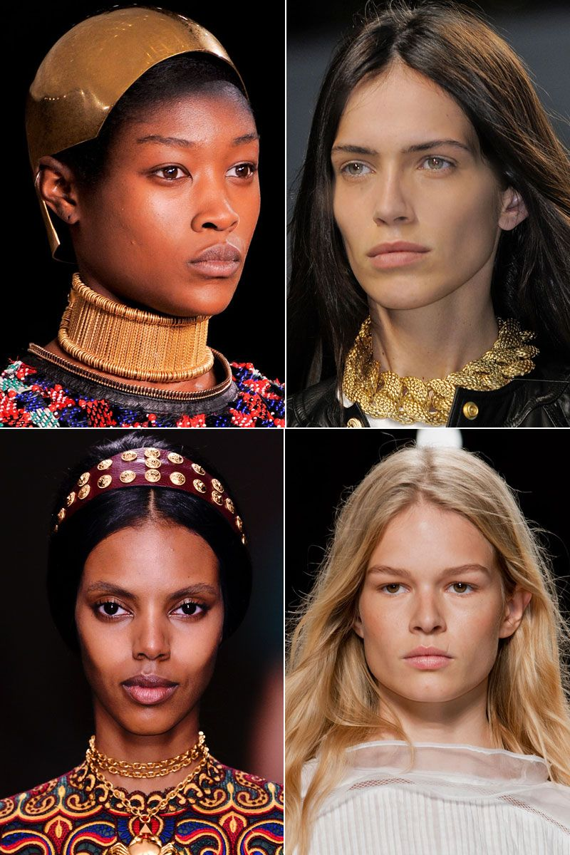 minimal beauty (Alexander McQueen, Balmain, Isabel Marant, Valentino)