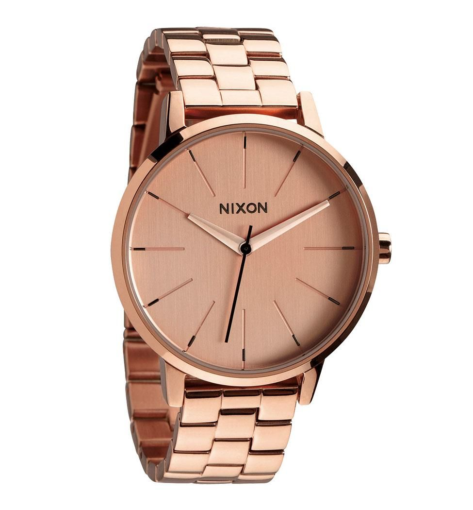NIXON kensington watch - all rosegold :: ozmosis WANT!