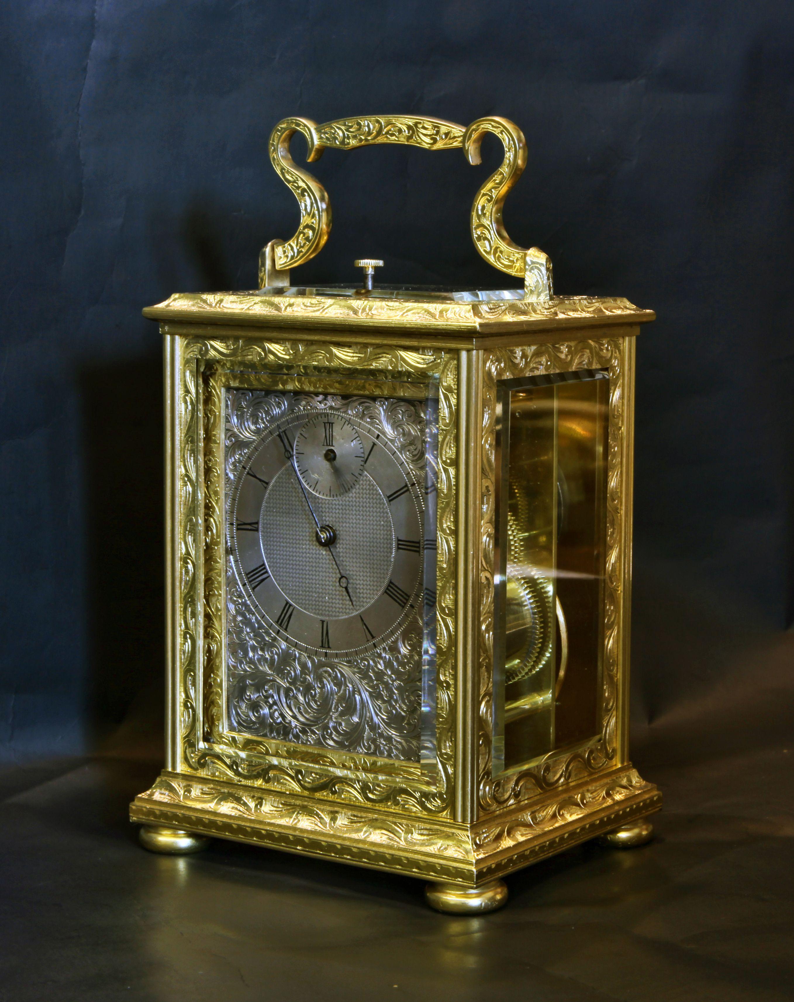 Platform escapement clock dating