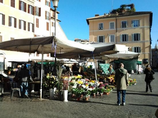 Normally an open-air market for farmers and fishmongers, head to Camp de' Fiori for a local taste of World Cup fever as restaurants and bars will be packed with people watching the game. Find more best places to watch the World Cup in Italy: http://pin.it/-CuflI4